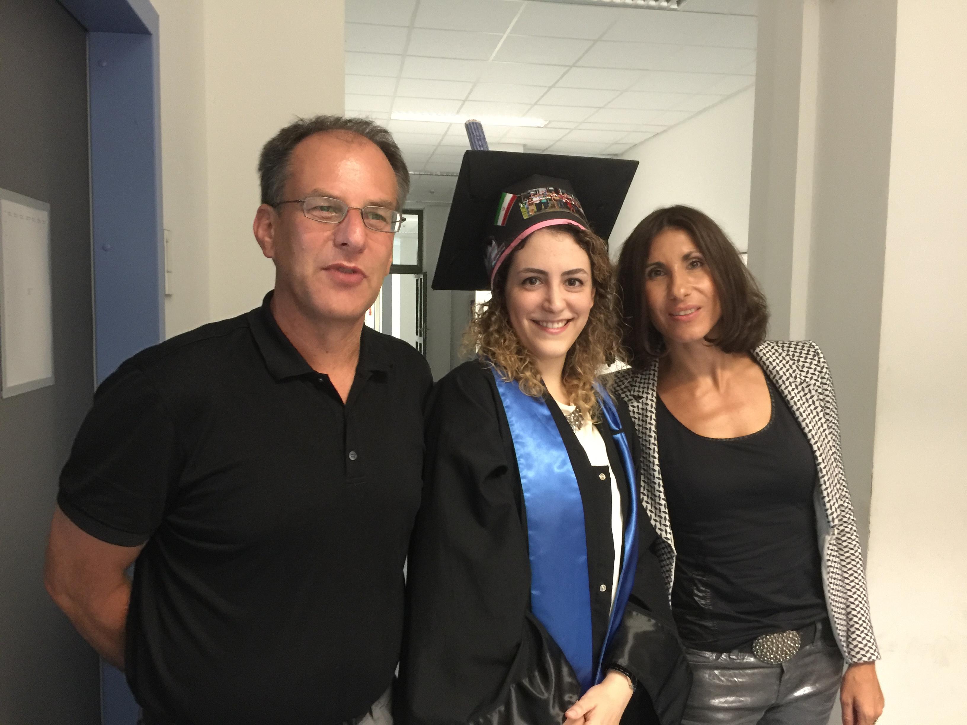 Uwe Kanter, Zahra Lofti and Katja Rost